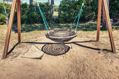 Empty swing — Stock Photo