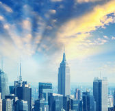 Skyline of New York — Stock Photo