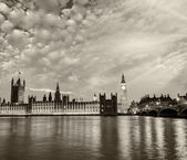 Der palace of westminster — Stockfoto