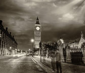 The Palace of Westminster and Big Ben Tower — Foto Stock
