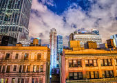 Manhattan night view. — Stock Photo