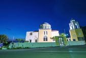 Typical house of Greek Island — Stockfoto