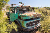 Abandoned truck — Stock Photo