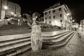 Spanish Steps to Trinita dei Monti, Rome — Stock Photo