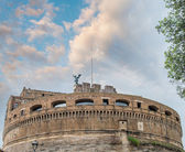 Rome. Castle of Holy Angel over the Tiber River — Stock Photo