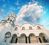 Pyrgos, ancient and classic village of Kos Island - Greece — Stock Photo
