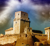 Ancient Castle of Europe — Stock Photo