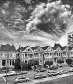 Alamo Square Homes, San Francisco — Stock fotografie