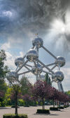 Atomium building in Brussels — Stock fotografie