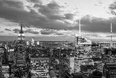 Aerial view of New York City Skyline — Stock Photo