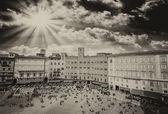 Maravillosa vista aérea de la plaza del — Foto de Stock