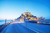 Mont saint michel — Foto de Stock