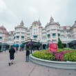 Entrance of Disneyland Park in Paris — Stock Photo #50277931