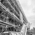 ������, ������: Facade of the Center Georges Pompidou in Paris