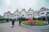 Entrance of Disneyland Park in Paris — Stock Photo