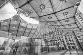 Grand Arche in La Defense financial district — Stock Photo
