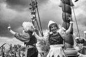Disney Characters Parade in Disneyland — Stock Photo