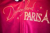 Commemorative sweatshirt of Disneyland — Stock Photo