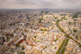 Buildings of Paris and Eiffel Tower — Stock Photo