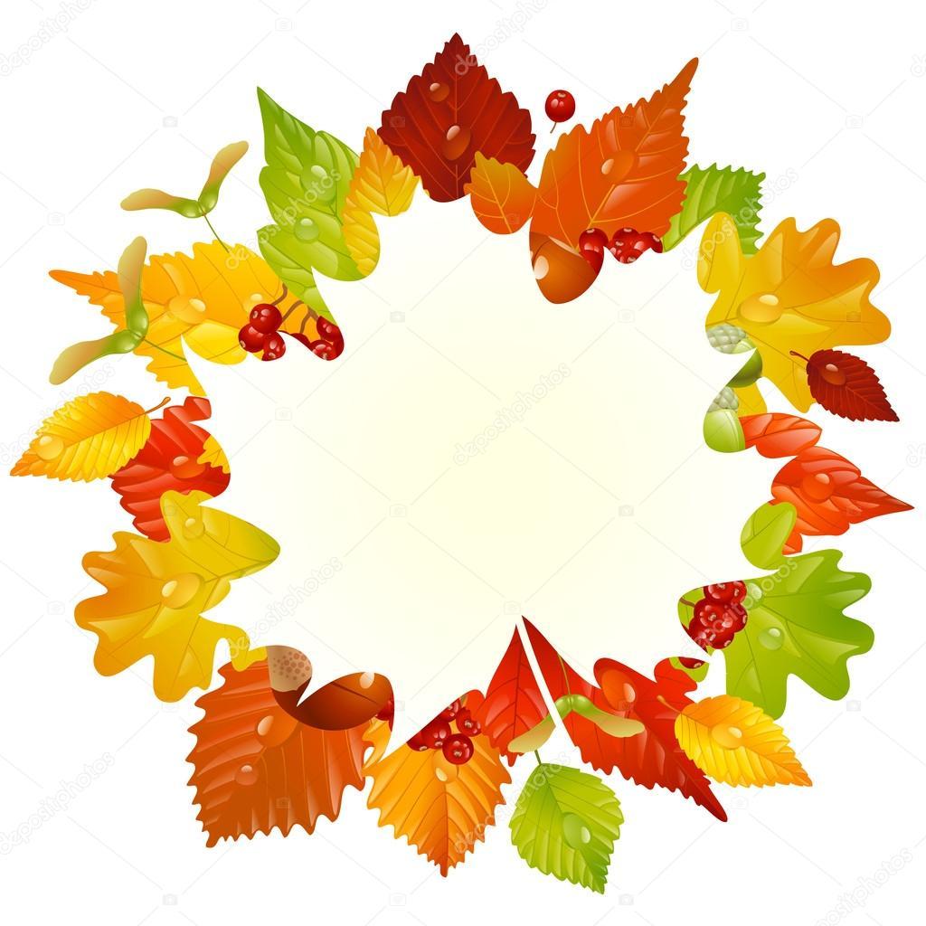 Прозрачная картинка осень