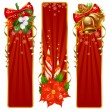 Royalty-Free Stock Imagen vectorial: Christmas background set