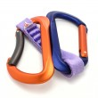 Carabiner and express isoleted — Stock Photo #2234123
