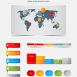 Royalty-Free Stock Vectorielle: Infographics elements