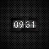 Orologio flip vettoriale — Vettoriale Stock