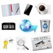 Business and office icons set. — Stock Vector #40587569