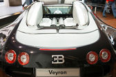 Bugatti Veyron in the Volkswagen-Center — Stock Photo