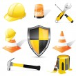 Construction icons — Stock Vector #47789721