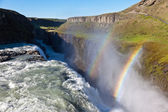 Gullfoss waterfall, Iceland. — Stock Photo