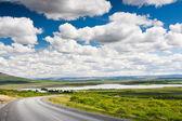 Islandský letní krajina. — Stock fotografie