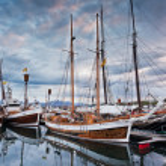 Icelandic Sailboats — Stock Photo #35758573