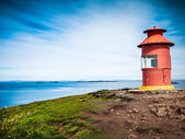 Little red lighthouse — Stock Photo