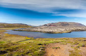 Selvallavatn, a vulcanic lake in Iceland. — Stock Photo
