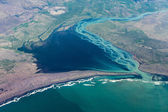 Iceland: aerial photography of the southern coast. — Stock Photo
