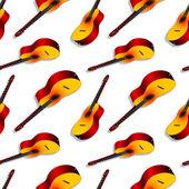 Konzertgitarren-muster — Stockvektor