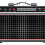 Electric guitar amplifier — Stock Vector #19384517