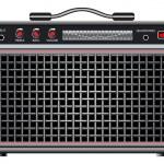 Electric guitar amplifier — Stock Vector