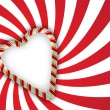 Valentine greetings background - Imagen vectorial