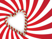Valentine greetings background — Vettoriale Stock
