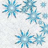 Snowflakes design — Stock Vector