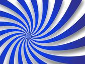 Ricciolo blu ombreggiata — Vettoriale Stock