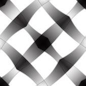 Metallic shadowed pattern — Stock Vector