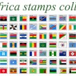 Vetorial Stock : Africstamps collection