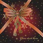 Christmas Bow — Stock Vector #1278527