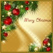 Royalty-Free Stock Imagem Vetorial: Art card  for Christmas