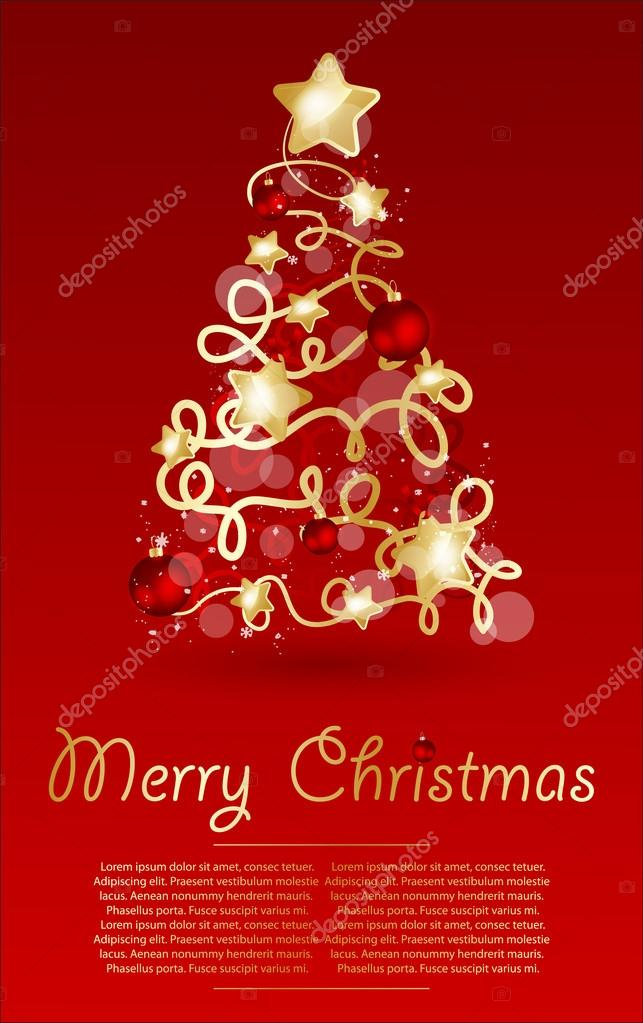 Christmas  vector illustration. — Stock Vector #15826403
