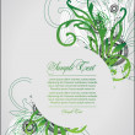 Art flourish background — Stock Vector #23539013